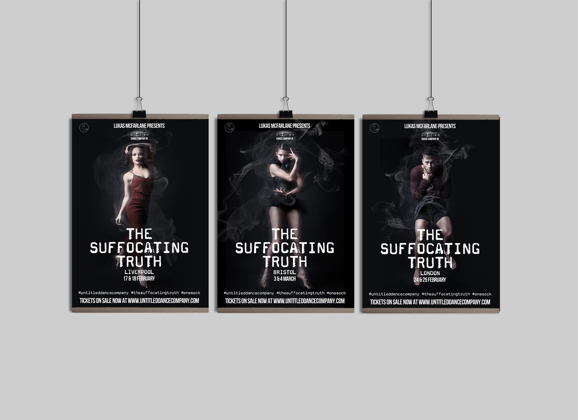 Lukas mcfarlane suffocating truth posters