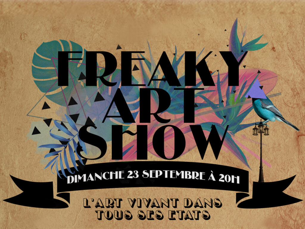 freaky art work show France Julia spiesser